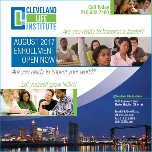 Cleveland Life Institute Enrollment Now Open