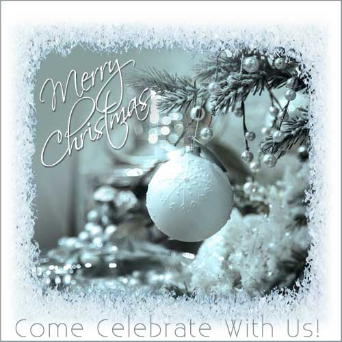 Celebrate Christmas With Us!