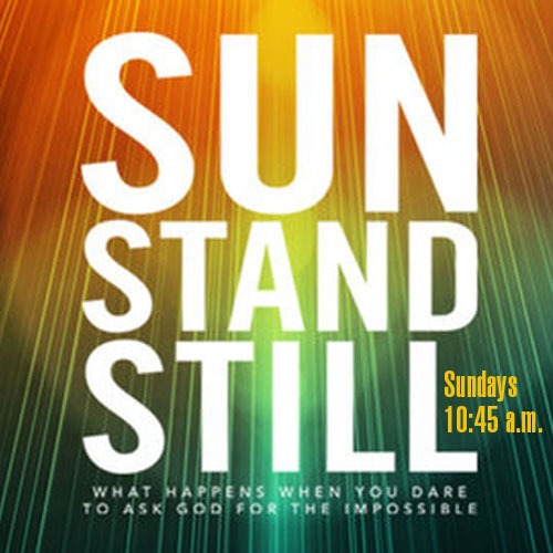 Sun Stand Still Sundays, 10:45am