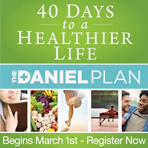 Healthier Life with The Daniel Plan