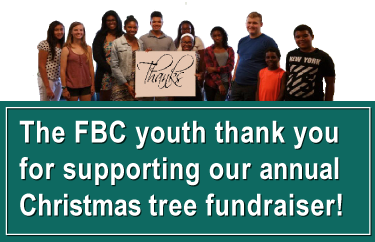 The FBC youth thanks you!