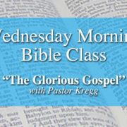Wednesday Morning Bible Class