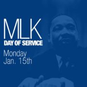 Martin Luther King Day of Service Jan. 15th