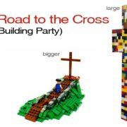 Road to the Cross (Lego Crosses)