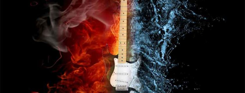 Fire and Water - Guitar