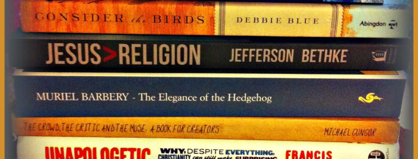 pile of religious books