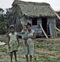 Family in Nicaragua
