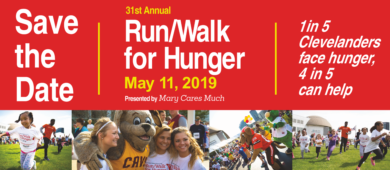 Run/Walk for Hunger - May 11, 2019