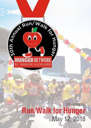 Run/Walk For Hunger 30th Annual Medal