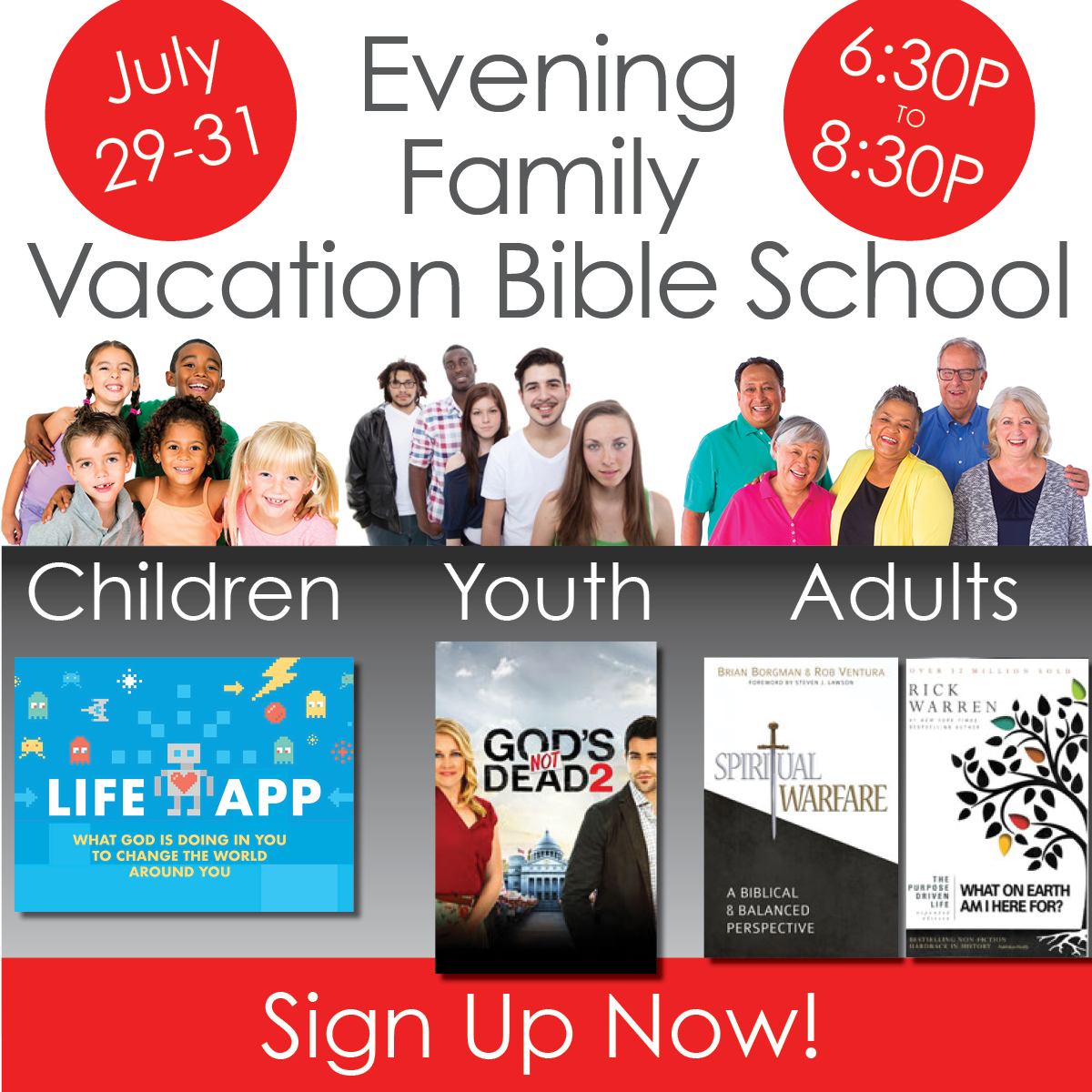 Evening Family VBS - Sign Up Now!