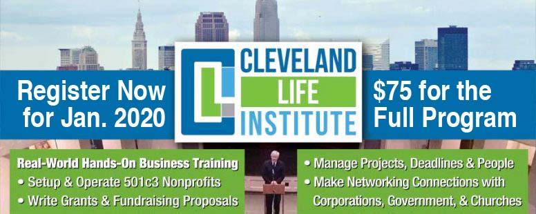 Cleveland Life Institute Header