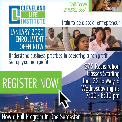 Register for Cleveland Life Institute
