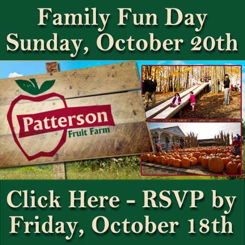 RSVP for Patterson Family Fun Day