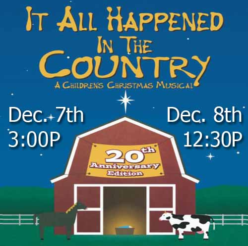 It All Happened In The Country Musical