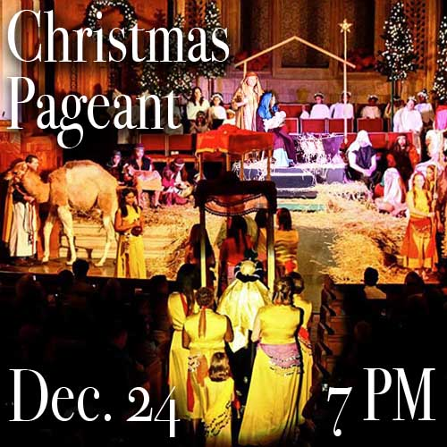 Christian Pageant December 24 @ 7PM