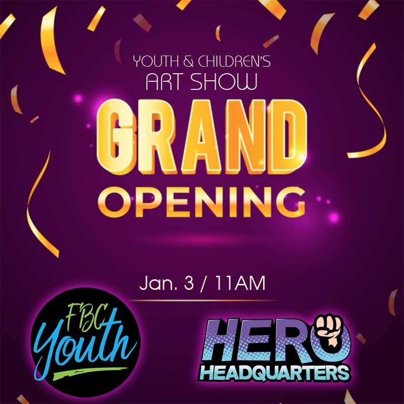 Art Show Grand Opening