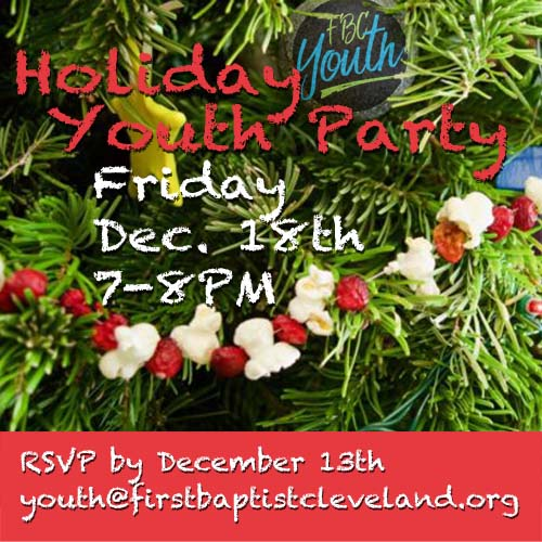 Holiday Youth Party
