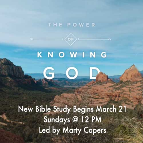 Power of Knowing God Bible Study